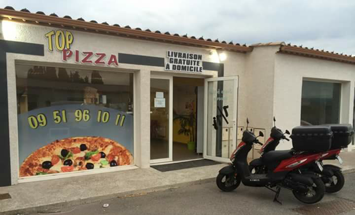 Top Pizza à Gigean